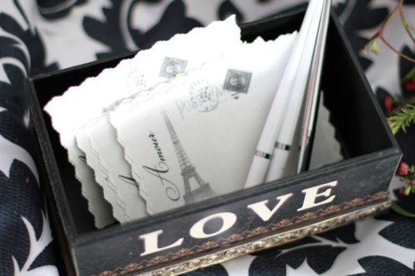 wedding paris postcards