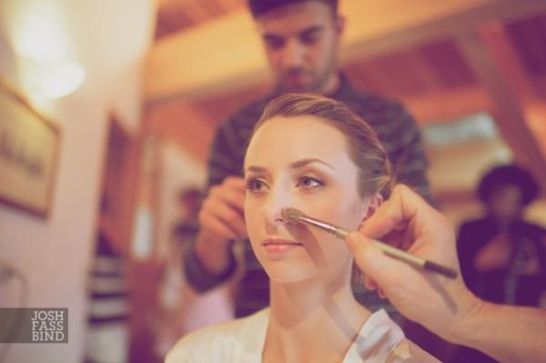bridal makeup chamonix