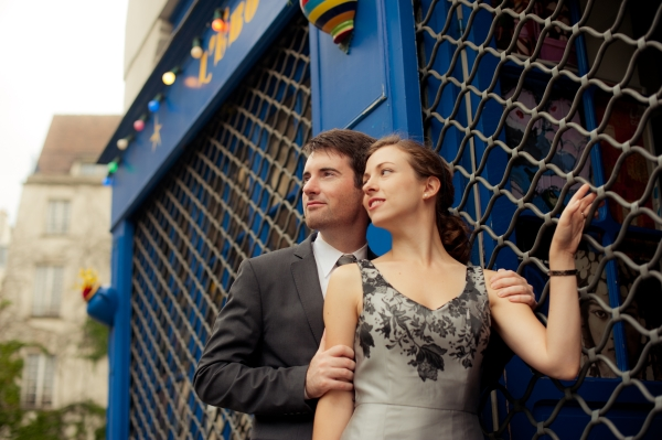 city of love engagement