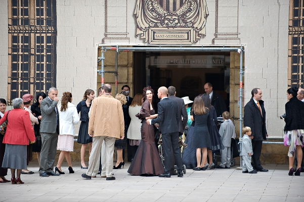 civil wedding ceremony france