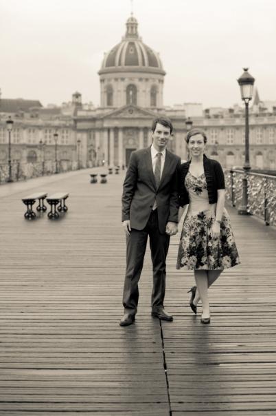 engagement pont des arts