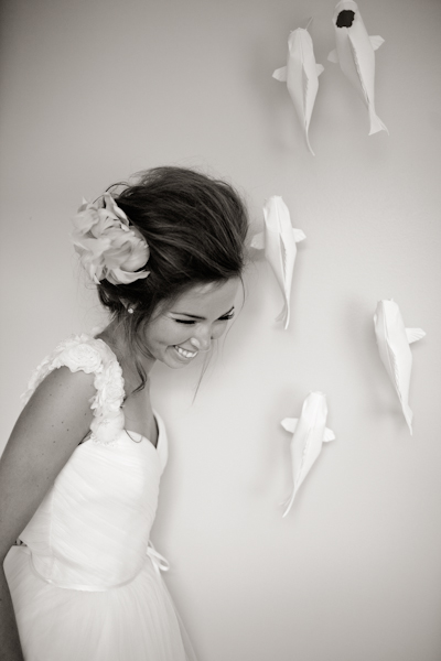 fish wedding decorations