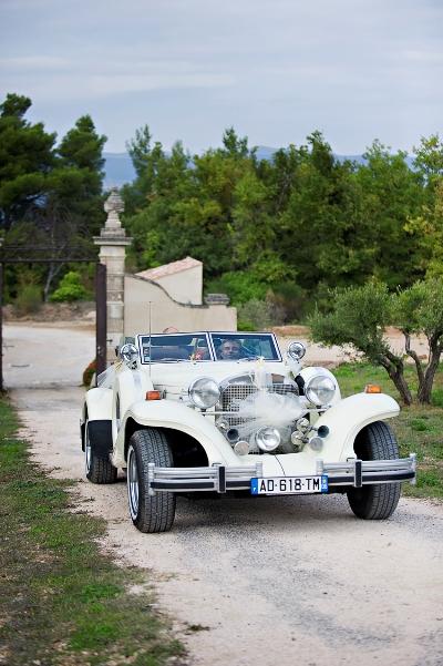 french wedding car