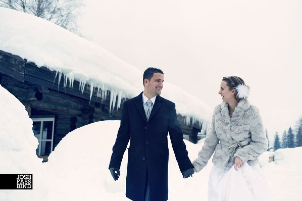 french winter wedding