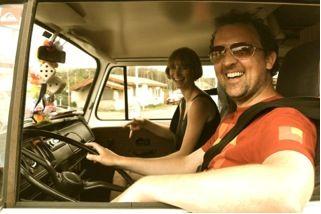 VW Camper Honeymoon France