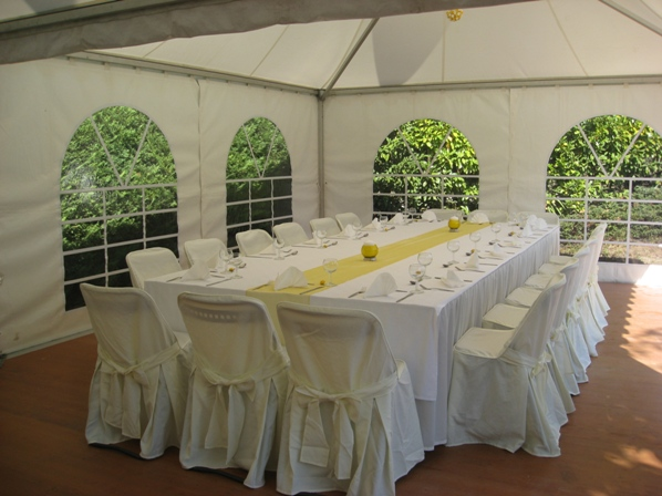 marquee wedding france