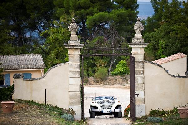 wedding car france
