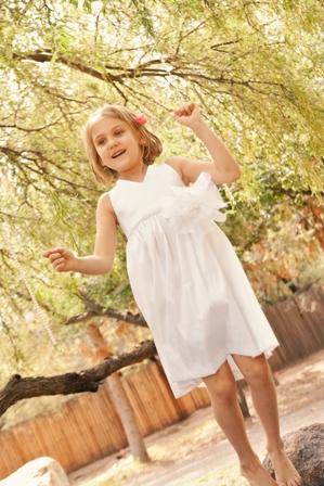 white girls flower dress