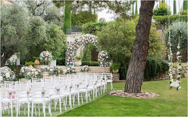 Chateau Saint Martin luxury wedding in Provence