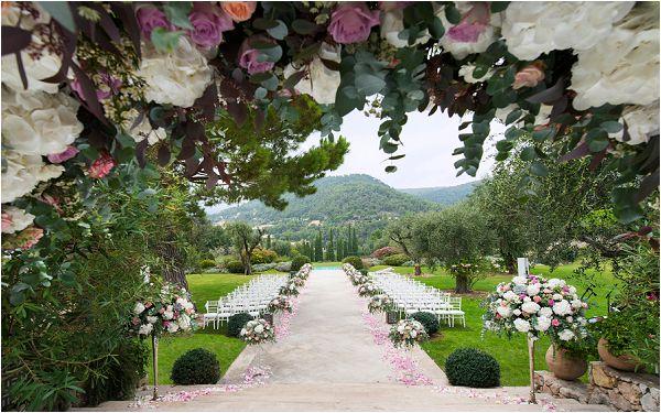 Chateau Saint Martin outdoor wedding venue