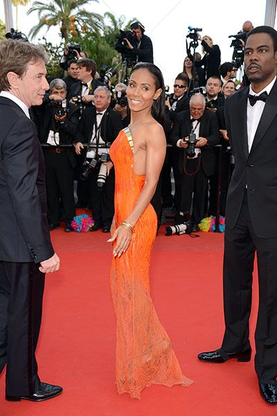 cannes red carpet dress