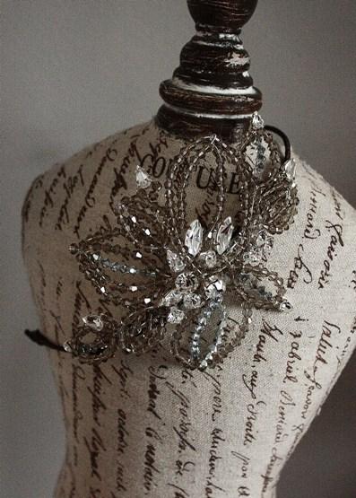 flower vintage headband