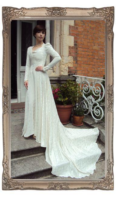 Original vintage wedding dress
