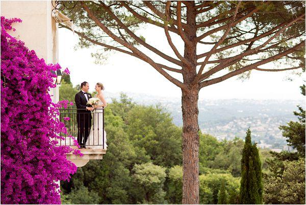 wedding at Chateau Saint Martin Provence