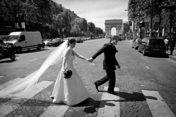 wedding shoot Paris