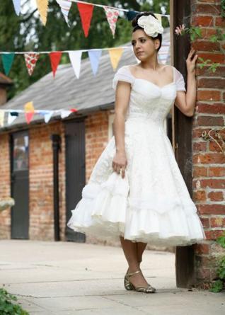 vintage wedding dress for destination wedding