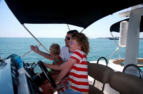 family honeymoon yacht charter