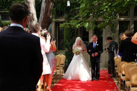 languedoc wedding ceremony