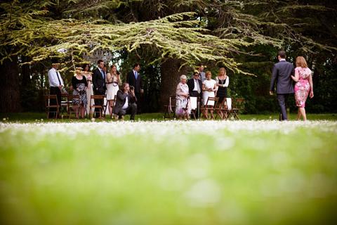 outdoor wedding france