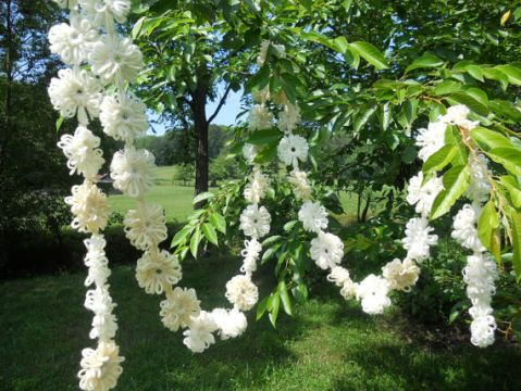 shabby chic wedding garland