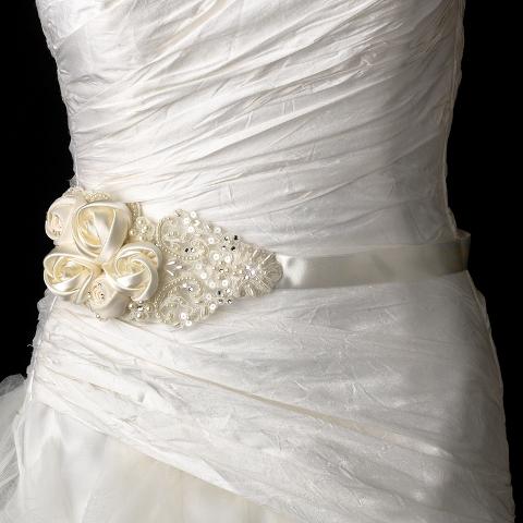 vintage bridal sash