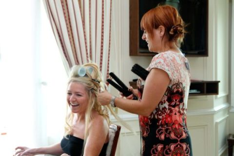 wedding hair languedoc