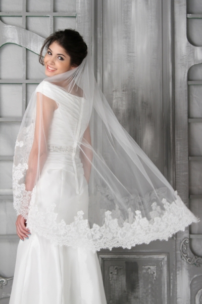 win wedding veil