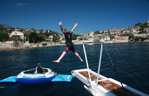 yacht holiday france