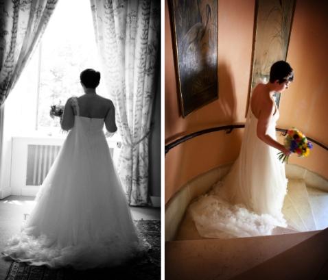 Real life Chateau wedding Dordogne