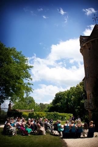 chateau wedding dordogne