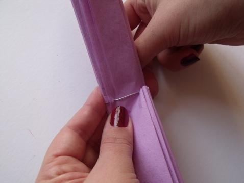 making paper wedding flowers