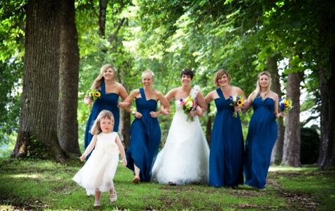 real life wedding dordogne