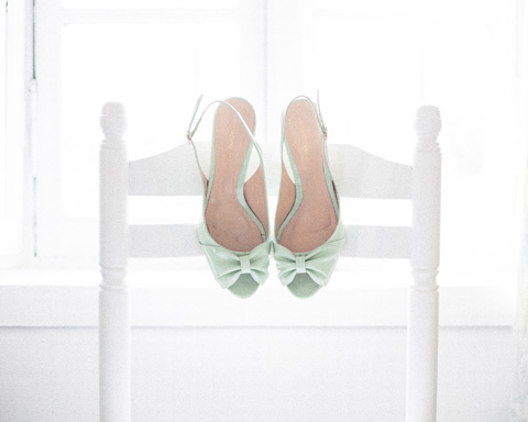 sage green shoes