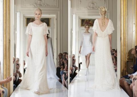 shabby chic bridalwear