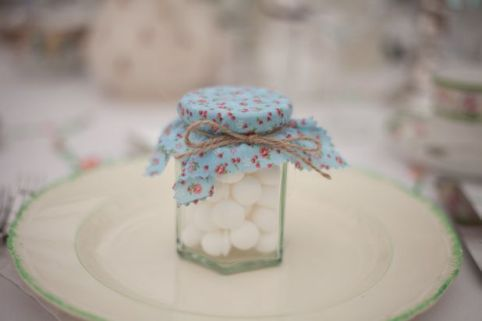 shabby chic favours