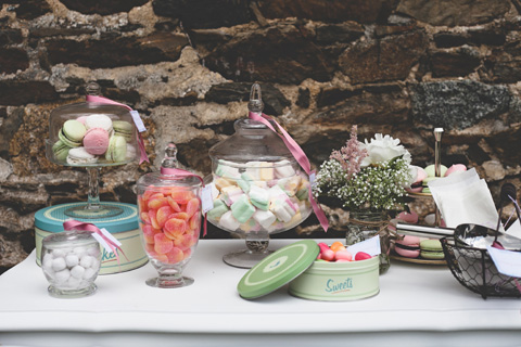 shabby chic sweet table