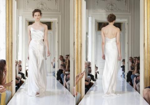 slinky wedding dress