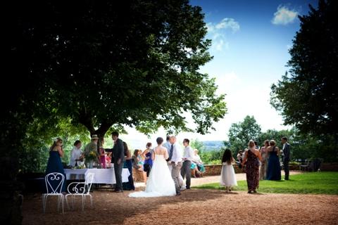 wedding reception dordogne