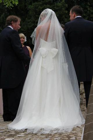 bespoke french wedding dress