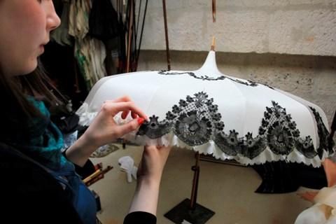 designer parasoles
