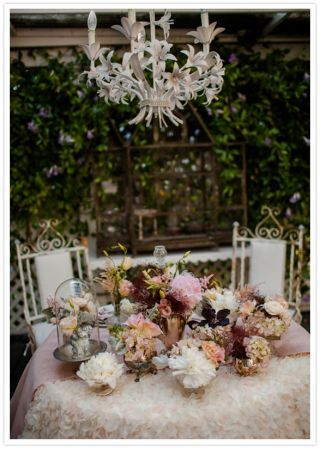 french garden wedding