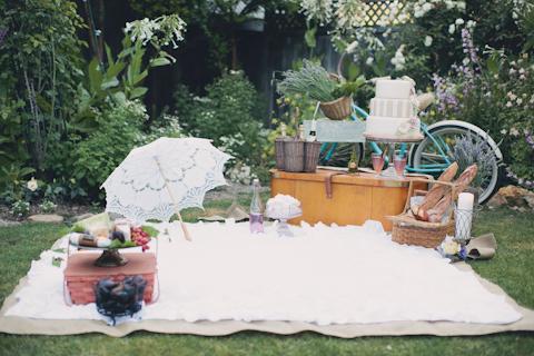 french wedding picnic