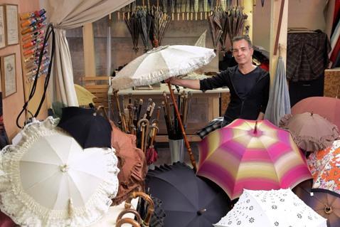 haute couture parasols