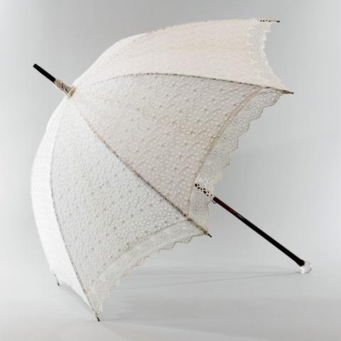lace bridal umbrella