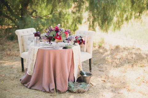 Wedding flowers using succulents