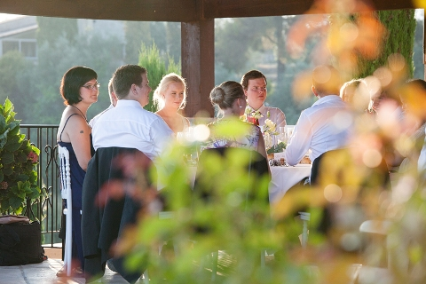 scenic wedding provence