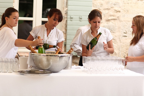 wedding caterers french riviera