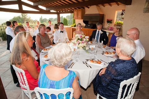wedding catering provence