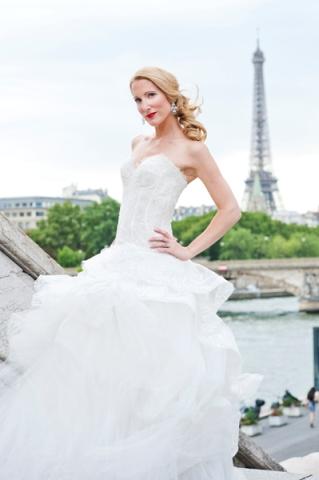 bridal photoshoot paris