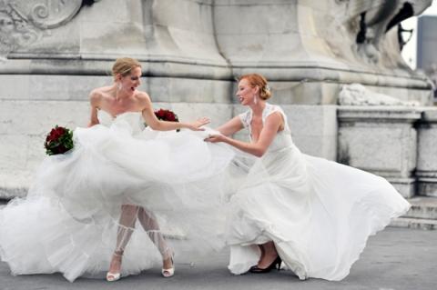 bridal shoot paris